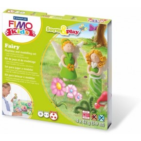 Sada Fimo Kids Form & Play Víly